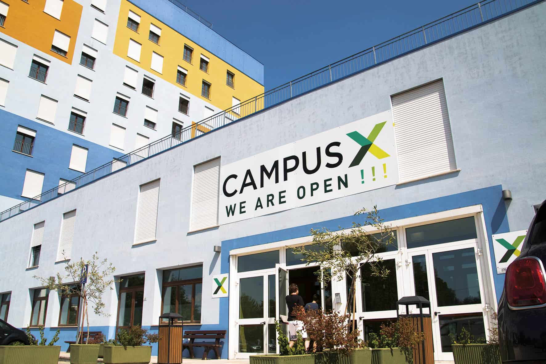 CAMPUS X THE FIRST ITALIAN RESENT STUDENT ALSO IN CHIETI
