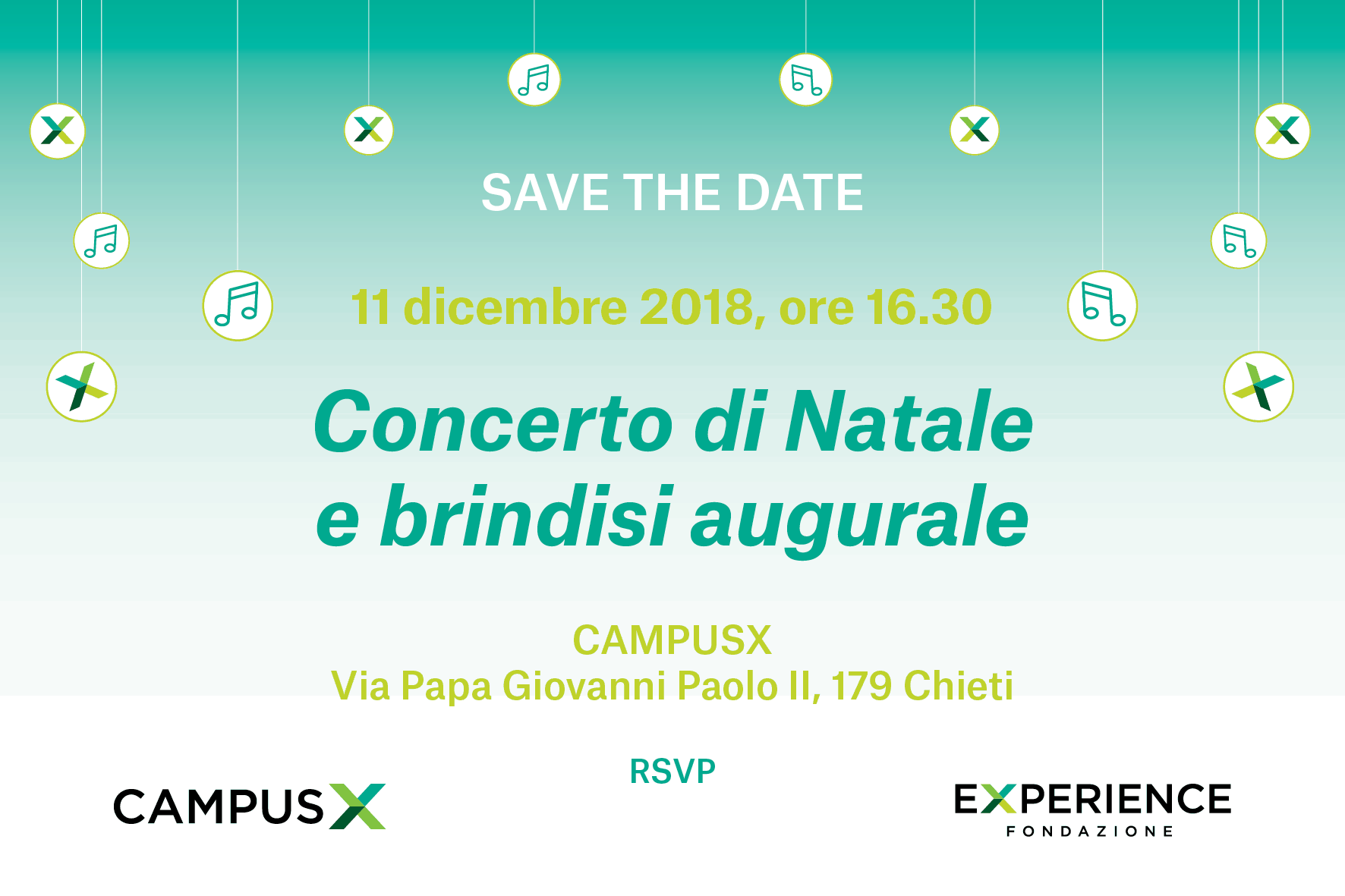 CX CHIETI: CHRISTMAS CONCERT: Preview of the project «On the wings of rhythm'n'blues – Music and youthful thought 1961 – 1967» by Ud'A Band