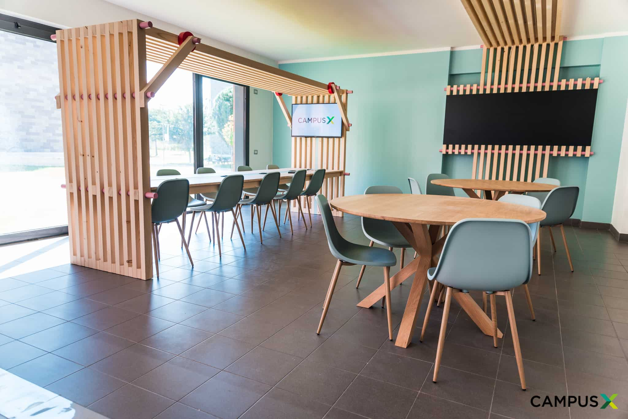 Coworking areas: new multidimensional work spaces